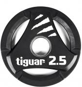 Tiguar otekahvallinen 2,5 kg PU levypaino