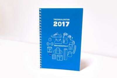 Treenikalenteri 2017 (Kuntokauppa.fi)