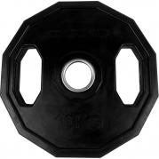 Tunturi Olympic Rubber Plate Levypaino 10 kg