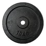 30 mm levypaino 10 kg, valurauta