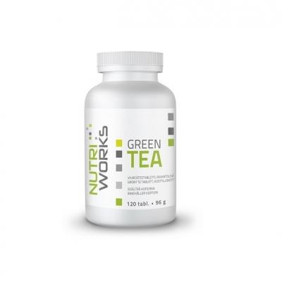 Vihreä tee, Nutri Works Green Tea 120 tabl.