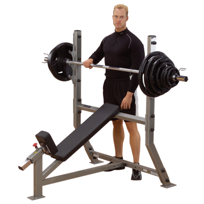 Vinopenkki, Incline Olympic Bench, Body-Solid Pro Club Line, mallikuva