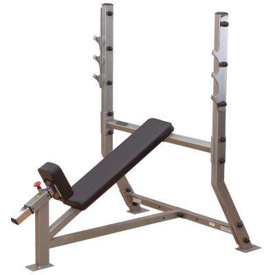 Vinopenkki, Incline Olympic Bench, Body-Solid Pro Club Line