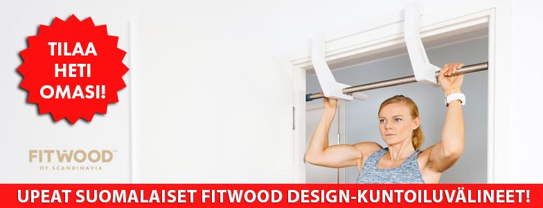 Tilaa nyt FitWood design-kuntoiluvälineitä!